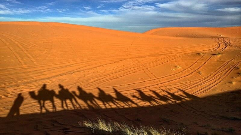 Sahara Desert - a great place to visit in Africa