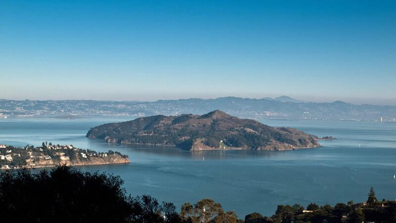 Angel Island for a scenic trail