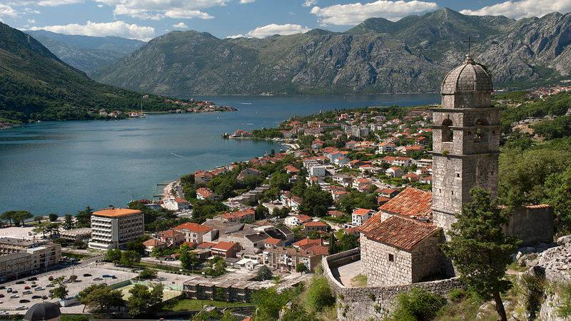 Kotor - best places to visit in europe in august