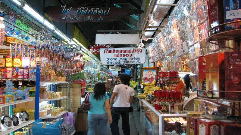 Chatuchak Weekend Market - cheap shopping in Bangkok