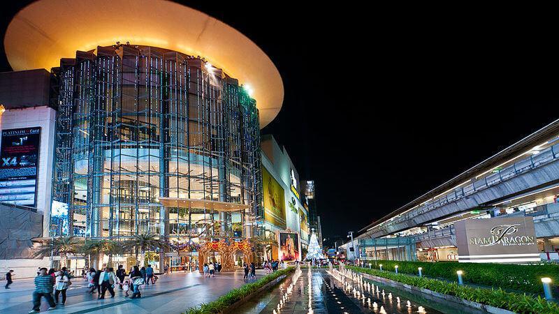 Siam Paragon - luxury shopping mall
