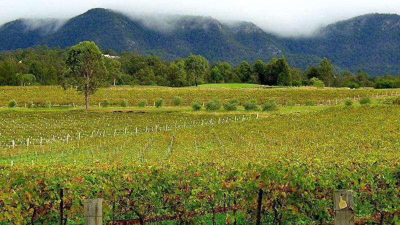 Hunter Valley - romantic australian getaway near NSW