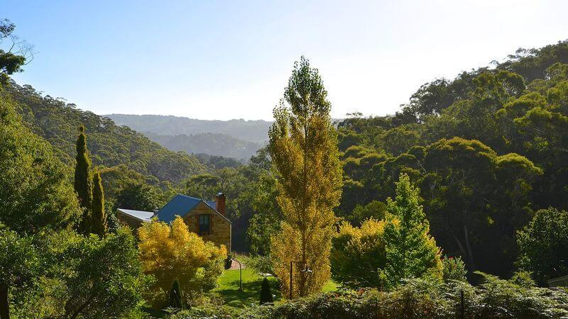 Adelaide Hills - luxurious retreats for couples