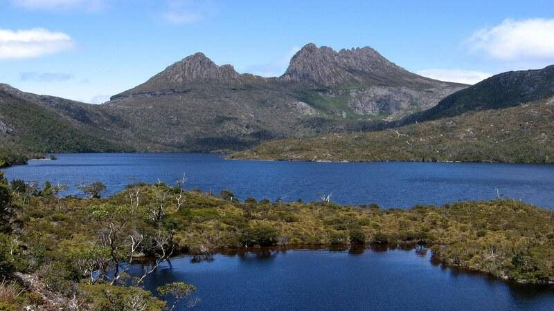 Cradle Mountains - secluded honeymoon destination in australia