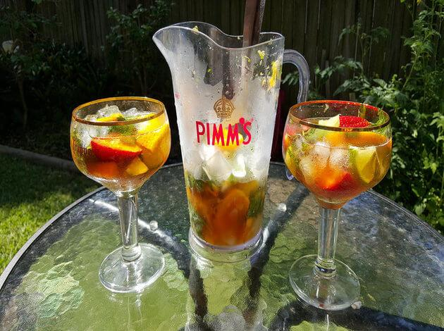 Pimm's - A best alcohol for starters