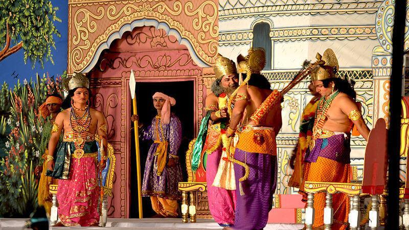 Watch the Ramlila in Delhi