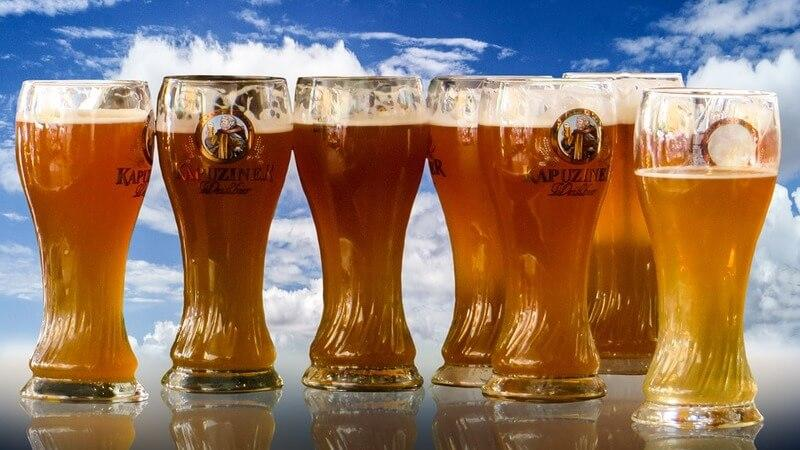 Types of beer served at Oktoberfest