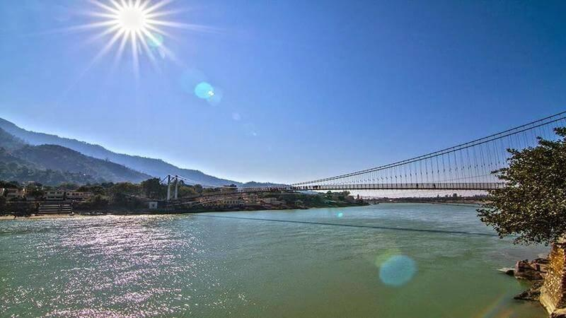 Rishikesh - place to visit in india under 5000