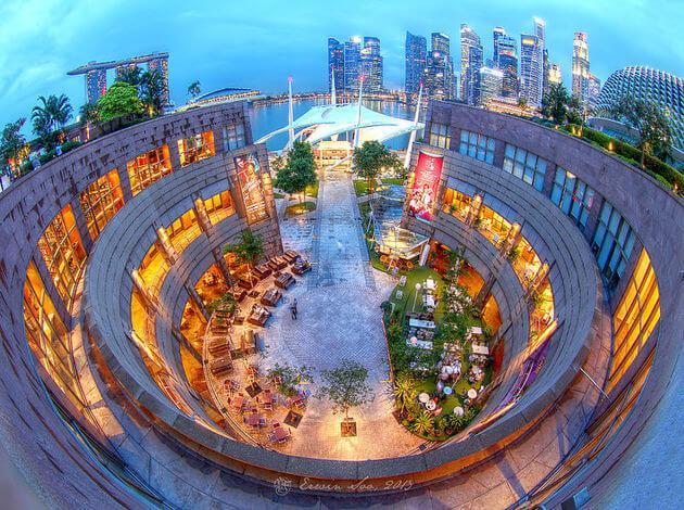 Esplanade Roof Garden