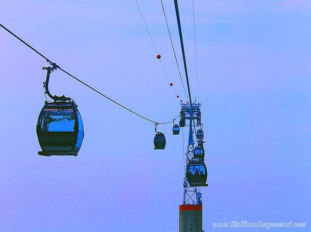 Cable Car Sentosa Mount Faber