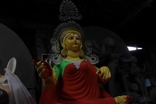 navratri celebrations in Kolkata