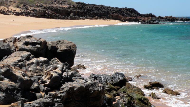 best beaches on Lanai