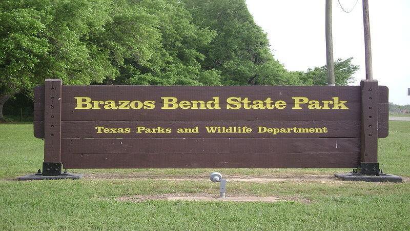 Brazos Bend State Park - camping spot near Houston