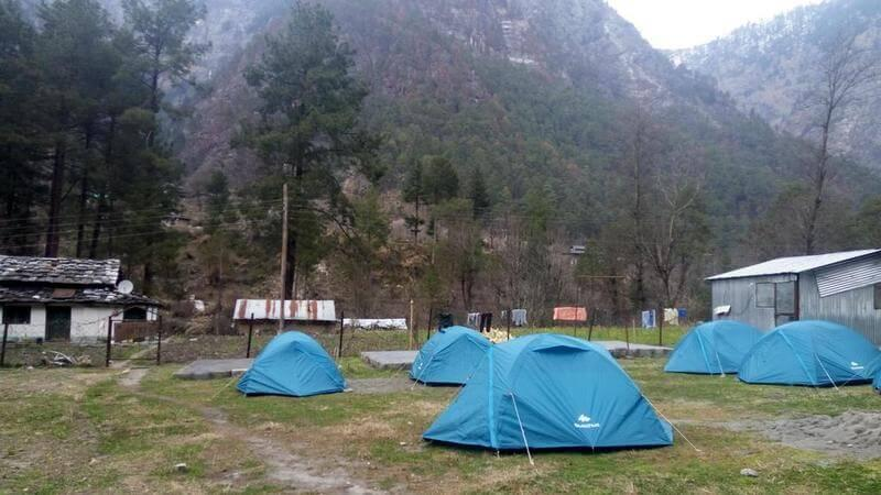 Parvati Woods Camps - backpacking to Kasol