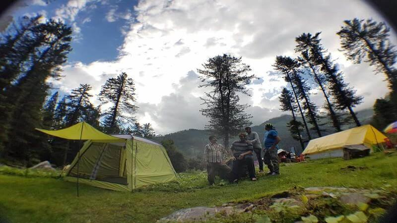Campin' Wild near Kasol