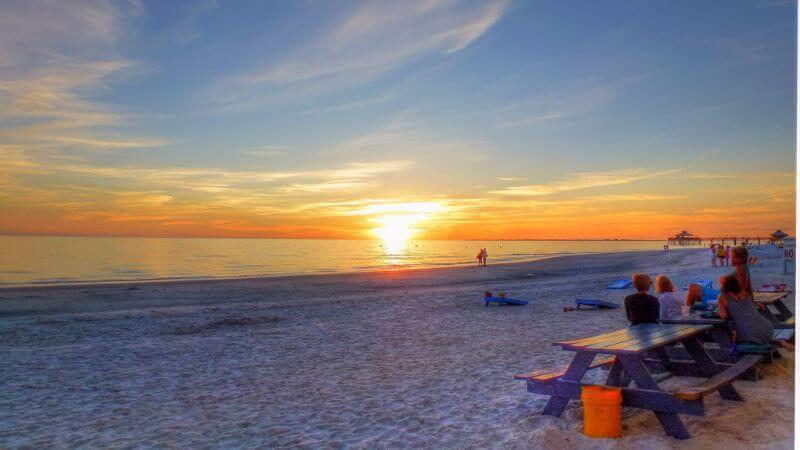 Fort Myers Beach - top best shell beach in florida