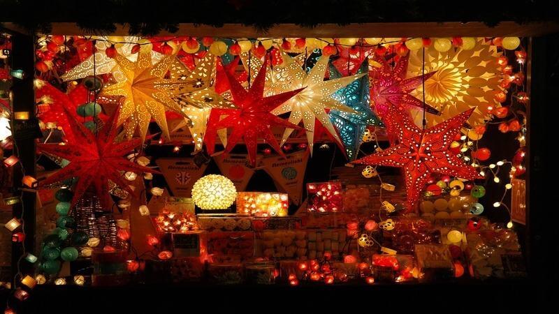 Texas Christkindl Lane -Christmas Market in USA