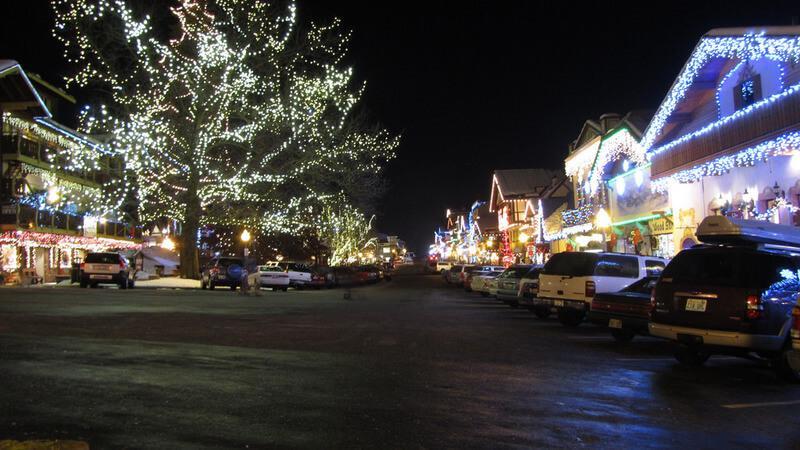 Christkindlmarkt in Leavenworth