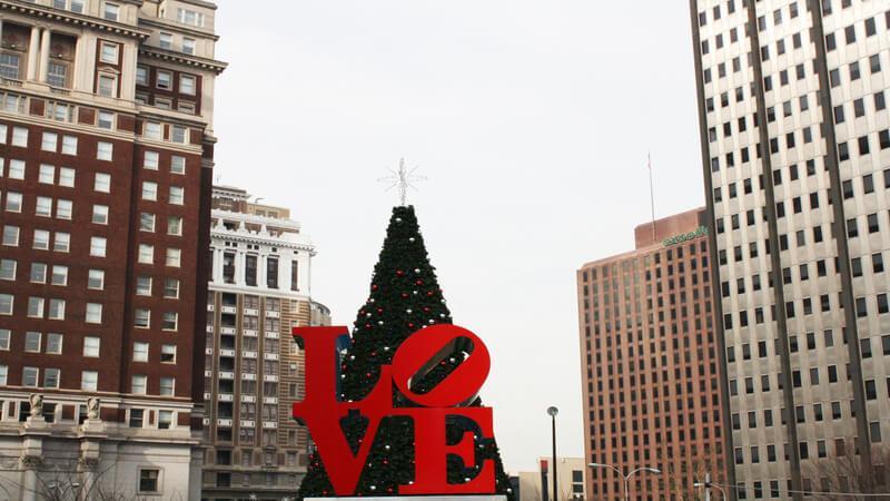 Christmas Village in Philadelphia - Christmas Market