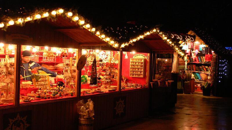Winterville Christmas market
