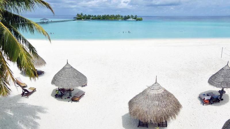 eco-resort in the Maldives