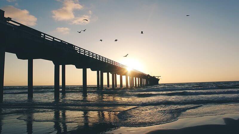 Piers in San Diego