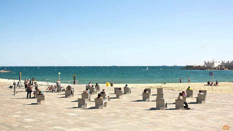 Naked Beach Barcelona
