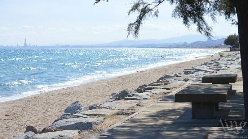 Ocata - white sand beach