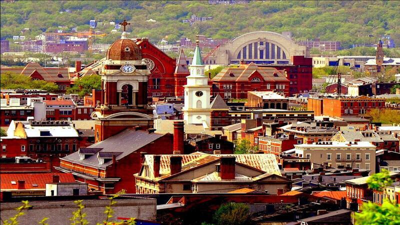 shopping in Cincinnati