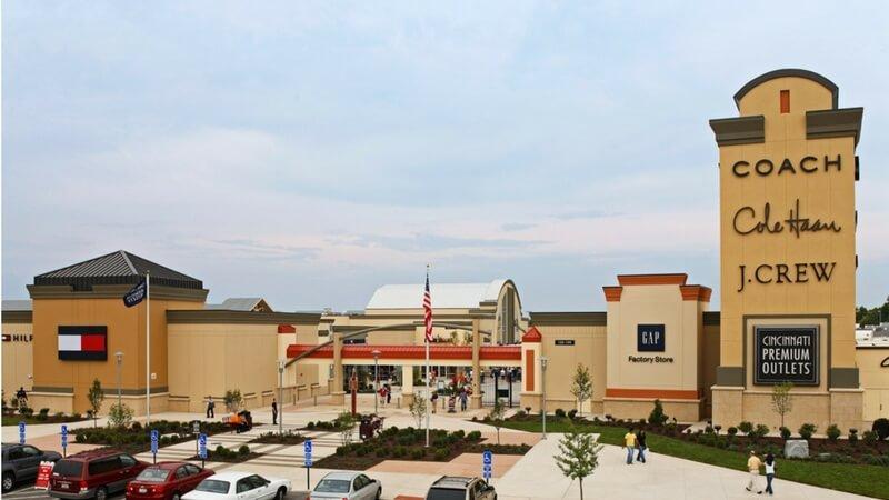 malls in Cincinnati