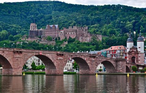 How to get in and get around Heidelberg