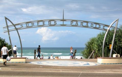 Travel to Surfers Paradise