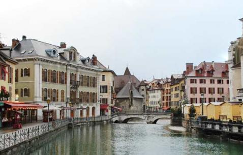 Map of Annecy France TripHobo