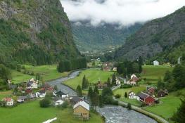 Flam, Sogn Og Fjordane, Norway