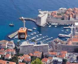 how to get to santorini from dubrovnik