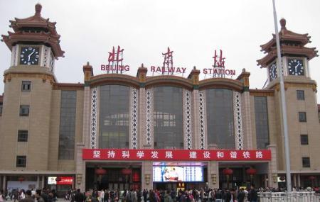 Beijing Railway Station Image