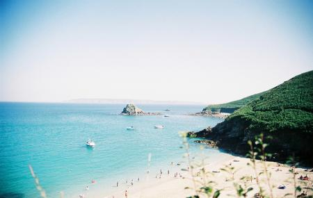 Shell Beach And Belvoir Bay Image
