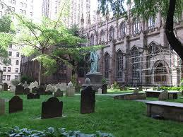Trinity Church And Graveyard Image