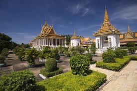 Royal Palace And Silver Pagoda Image