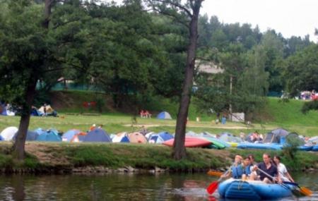 Rafting On The Vltava Image