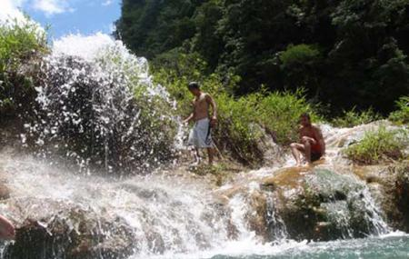 Waterfall Of Cham Pey Image
