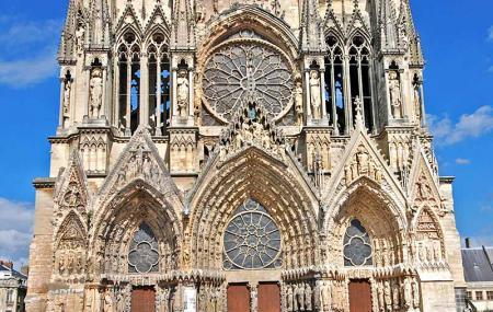 Cathedrale Notre-dame De Reims Image
