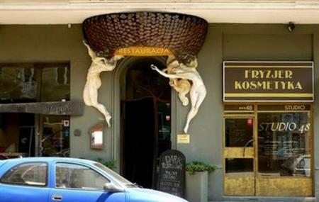 Dark Restaurant Image