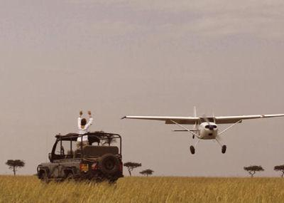 Scenic Flight Over The Mara Image
