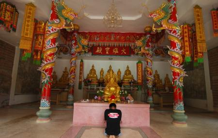 The Chinese Temple Image