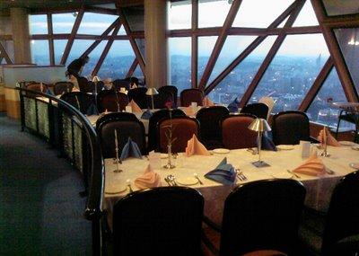 Revolving Restaurant At Kl Tower Image