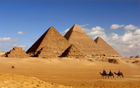Pyramids Of Giza Image