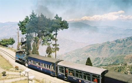 Himalayan Railway Or Railway Station Image