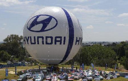 Hyundai Balloon At Montecasino Image