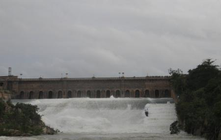 Krishna Raja Sagara Lake And Dam Image